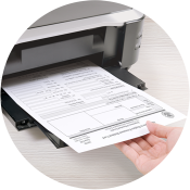 Print your US citizenship application